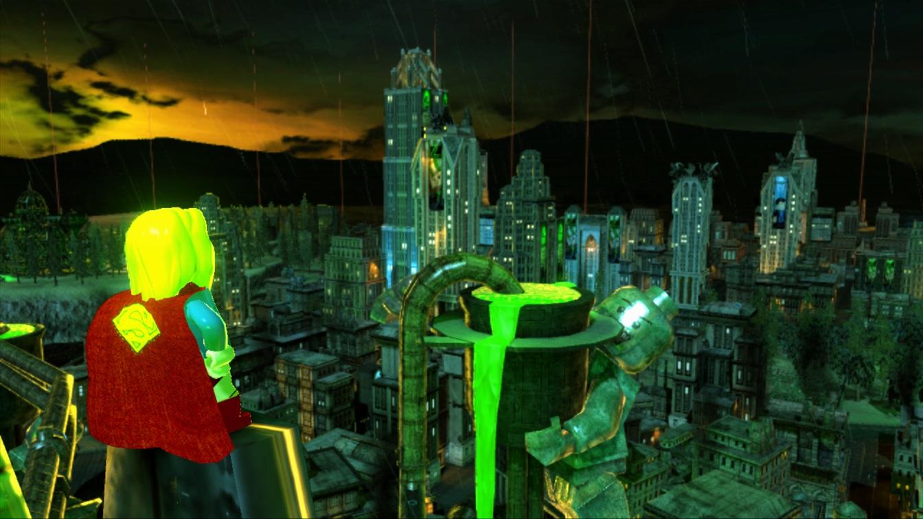 lego batman 2 has a few big upgrades since the original and past lego